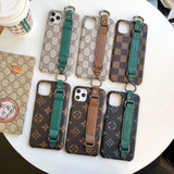 Hand Strap Holder Slipknot Case Back Cover iPhone 7 8 Plus X Xs Xr Xs Max 11 Pro Max