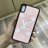 Fashion Pink Base Case For iPhone 7 8 Plus X XR XS XS Max