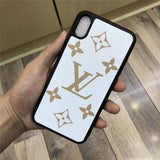 Fashion White  Base Case For iPhone 7 8 Plus X XR XS XS Max