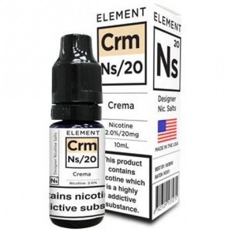 NS20 Crema E-Liquid by Element