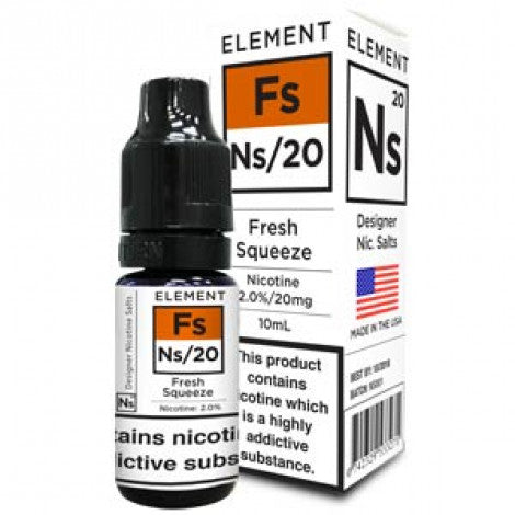 NS20 Fresh Squeeze E-Liquid by Element