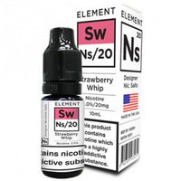 NS20 Strawberry Whip E-Liquid by Element