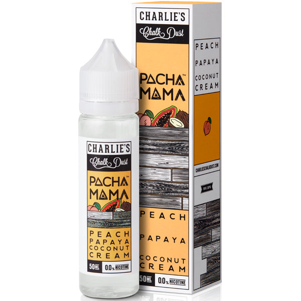 Peach, Papaya and Coconut Cream eLiquid by Pacha Mama 50ml