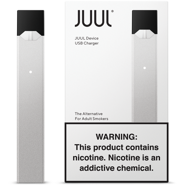 JUUL Device Kit - Silver (Limited Edition)