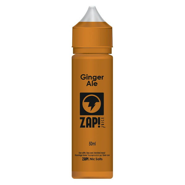 Ginger Ale by Zap Juice 50ml
