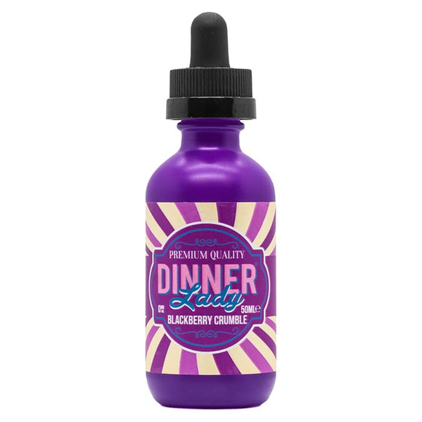 Blackberry Crumble 50ml E-Liquid  by Dinner Lady