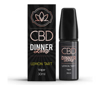 Lemon Tart CBD E-Liquid by Dinner Lady 30ml