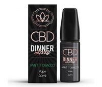 Mint Tobacco CBD E-Liquid by Dinner Lady 30ml