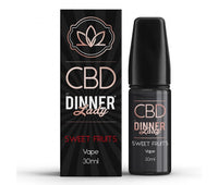 Sweet Fruits CBD E-Liquid by Dinner Lady 30ml