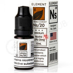 NS20 Chocolate Tobacco eLiquid By Element