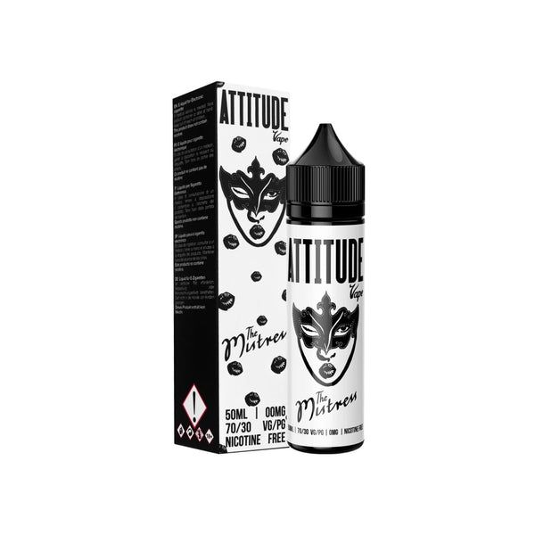 The Mistress 50ml E-Liquid by Attitude Vapes | 0mg