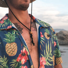 Load image into Gallery viewer, Tropical Oasis Zip Up Shirt