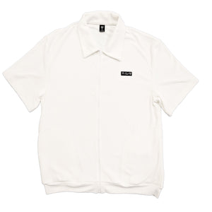 OG White Zip Up Shirt