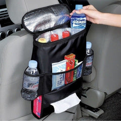 Insulated Car Seat Organizer Holder