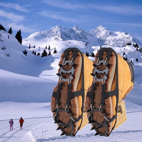 18 Teeth Non-slip Ice Snow Climbing Anti-slip Shoe