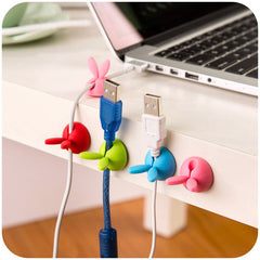 Cartoon Cable Organizer Headphone Headset Wire