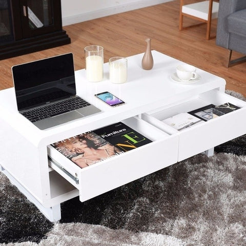 Modern Coffee Table Bluetooth Speakers