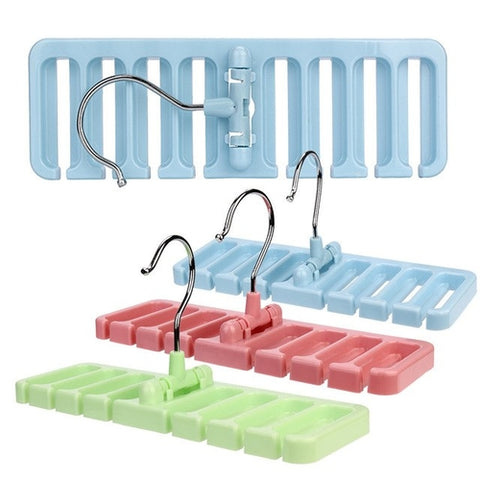 Hook Organizer Holder Rack Storage Hanger Wardrobe