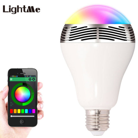 LightMe Smart Bulb E27 LED RGB Light Wireless