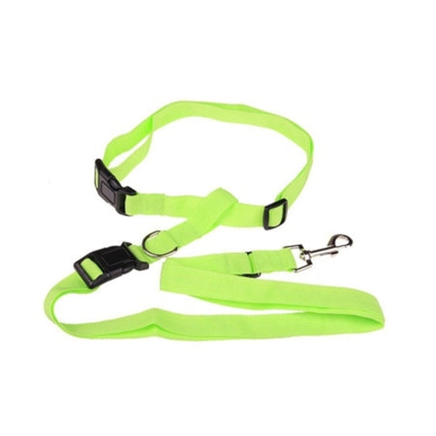 New waist pet dog leash running jogging puppy dog