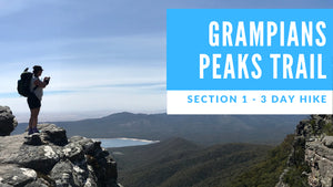 Grampians Peak Trail 3 Day Hike