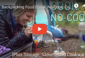 How to cook and eat while out hiking