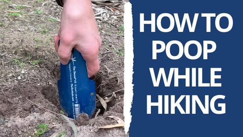 how to poo while hiking