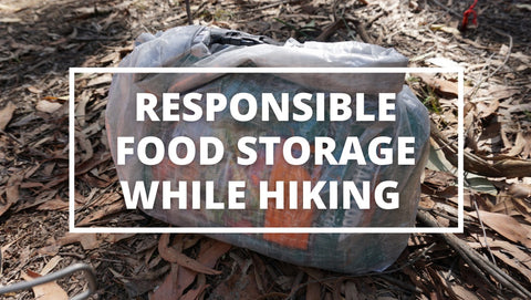 protect your hiking food from animals