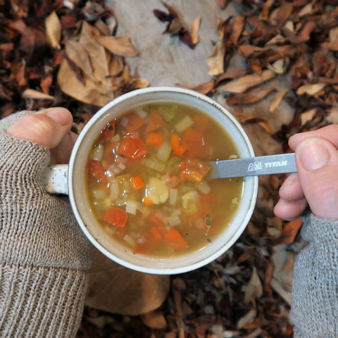 feed the hike dehydrated spring vegetable soup