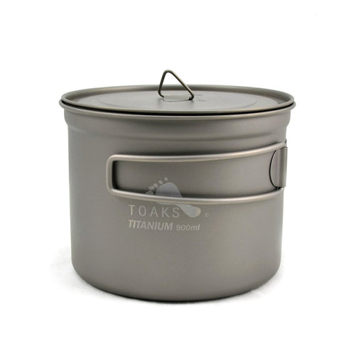 toaks titanium 900ml pot with lid