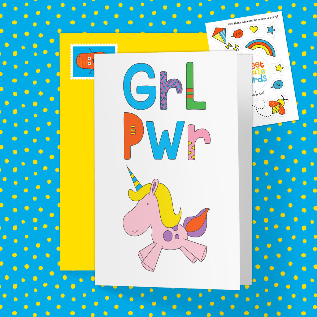 GRL PWR / Unicorn - Splash