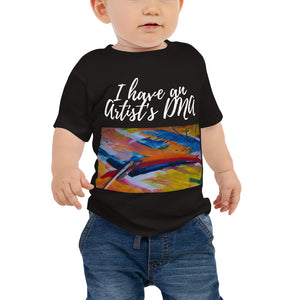 Baby Jersey Short Sleeve Tee - I have an artist's DNA