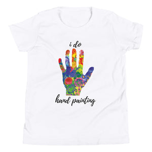 Youth Short Sleeve T-Shirt - i do hand painting (Multi Colors Available)