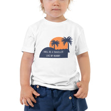 Toddler Short Sleeve Tee - I like to be a traveller like my mummy