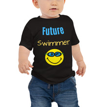 Baby Jersey Short Sleeve Tee - Future Swimmer
