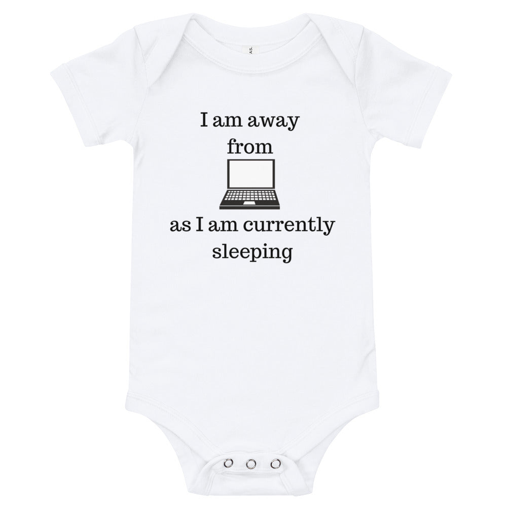 I am away from computer as I am currently sleeping - Baby bodysuits
