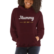 Unisex Hoodie - Mummy Est 2017 (Multi Colors Available)