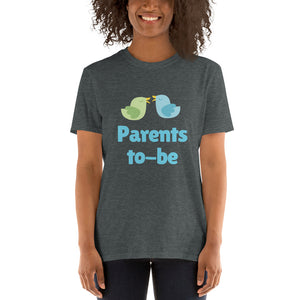 Short-Sleeve Unisex T-Shirt - Parents to-be (Multi Colors Available)