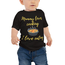 Baby Jersey Short Sleeve Tee - Mummy loves cooking