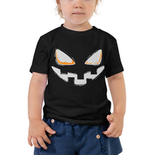 Toddler Short Sleeve Tee - Halloween Smile (Grey)