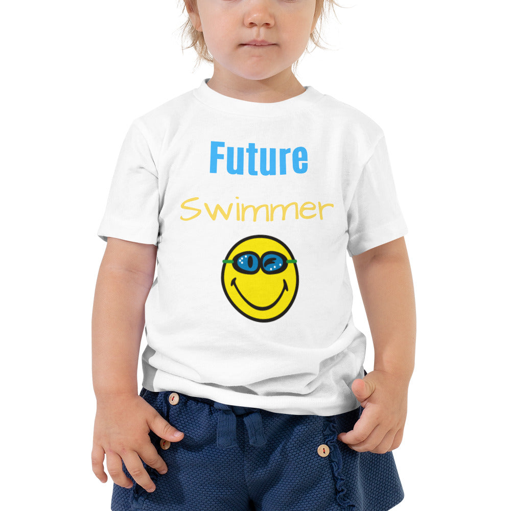 Toddler Short Sleeve Tee - Future Swimmer (Multi Colors Available)