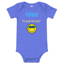Baby bodysuits Short Sleeve - Future Swimmer (Multi Colors Available)