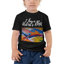 Toddler Short Sleeve Tee - I have an artist's DNA (Multi Colors Available)