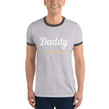 Ringer T-Shirt - Daddy Est 2018 (Multi Colors Available)