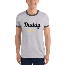Ringer T-Shirt - Daddy Est 2016 (Multi Colors Available)