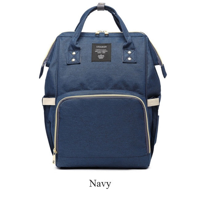 Nappy/Diapers changing baby bag - navy