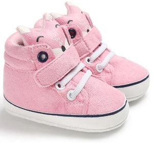 Animal Soft Sole Sneakers Shoes - Multi Colours Available