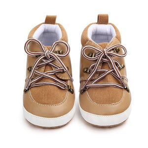 Suede Lace Casual Baby Boy Shoes