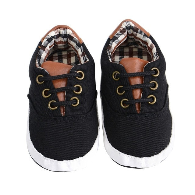 Baby Boys Stylish Canvas Sneaker - Multi Colours Available