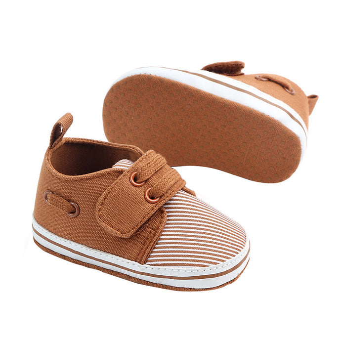 Baby Boy Striped Fashion Boy Shoes - Multi Colours
